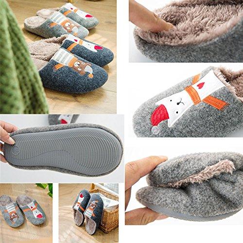 Pantoufles Chaussons Confort Hommes De Pour Muoticolor3 r8fq0r