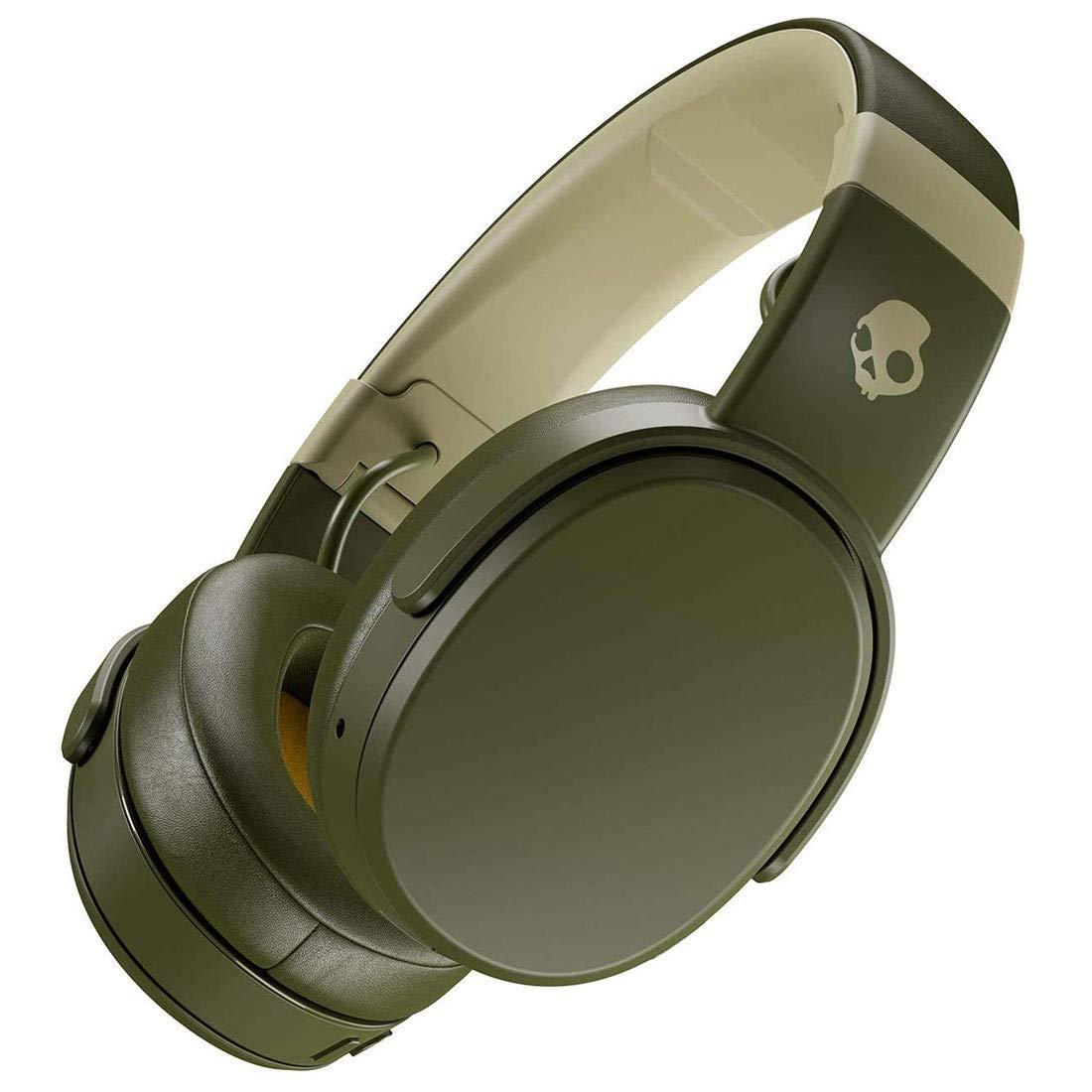 Skullcandy Crusher Wireless Over-Ear Headphone - Olive