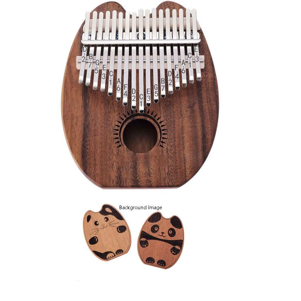 17 Key Kalimba Marimba 17 African New Pattern Creative Thumb Piano Finger Percussion Keyboard Music Instruments Kids Marimba Marimbas by ZJY