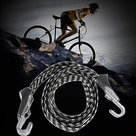 SHIJING 70 cm Elástica Cuerda de Equipaje Bicicleta Bicicleta ...