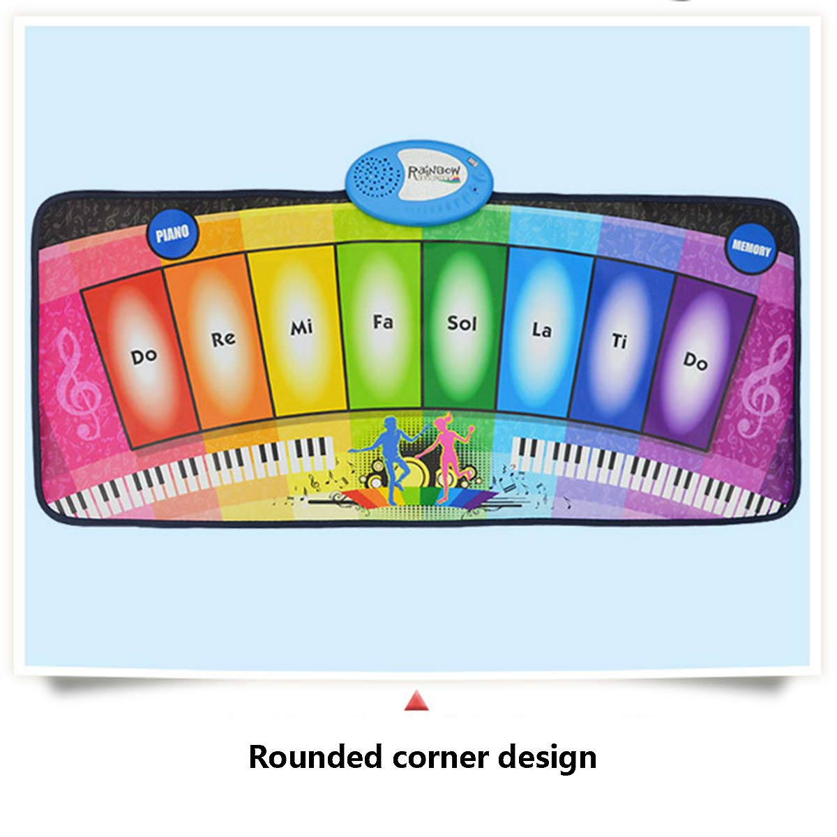 Children's Electronic Piano Mat, Electronic Music Game Pad Music Crawling Blanket Support Multi-Person Use by Eustoma (Image #4)