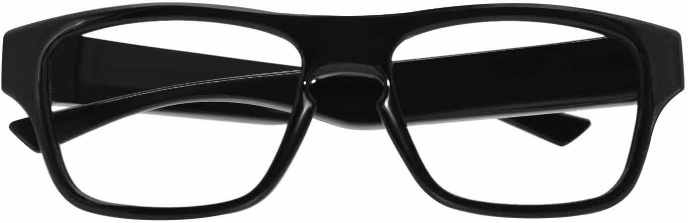 viview Cámara de acción de vídeo con gran angular HD 1920 x 1080P Gafas de cámara inteligente, color negro