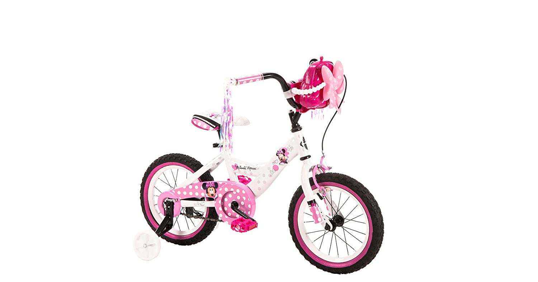 Girls' 14 Inch Huffy Minnie Mouse Bike by Huffy B01HCEU16O