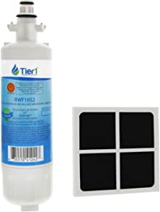 Tier1 Replacement for LG LT700P ADQ36006101, ADQ36006102, Kenmore 46-9690, and LT120F Water and Air Filter Combo