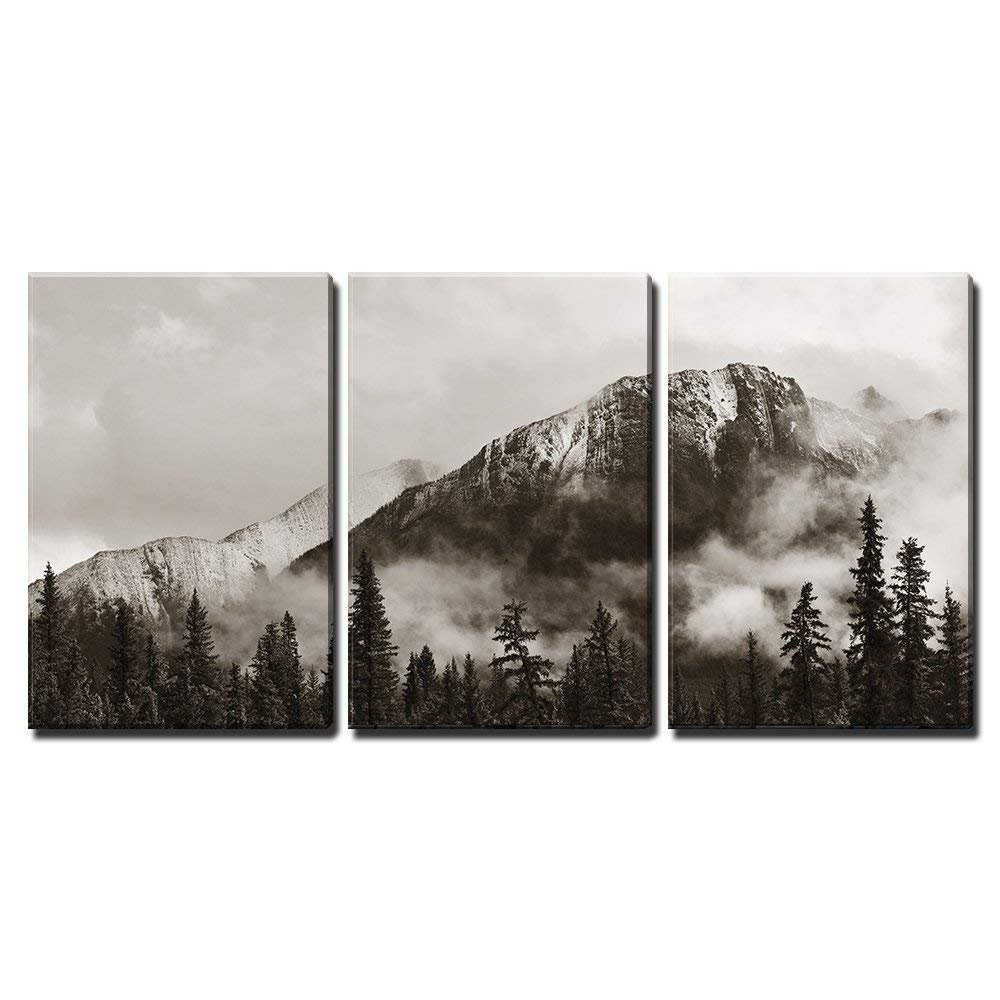 Amazon com wall26 banff national park canada canvas art wall decor 16x24x3 panels posters prints
