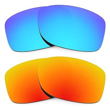 Revant Ersatzlinsen für Oakley Jupiter LX Feuerrot MirrorShield onJS2DS