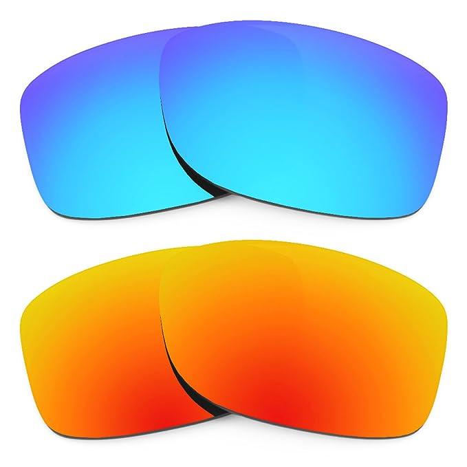 Revant Combo de 2 pares de lentes polarizados, de reemplazo, para Oakley Jupiter Squared