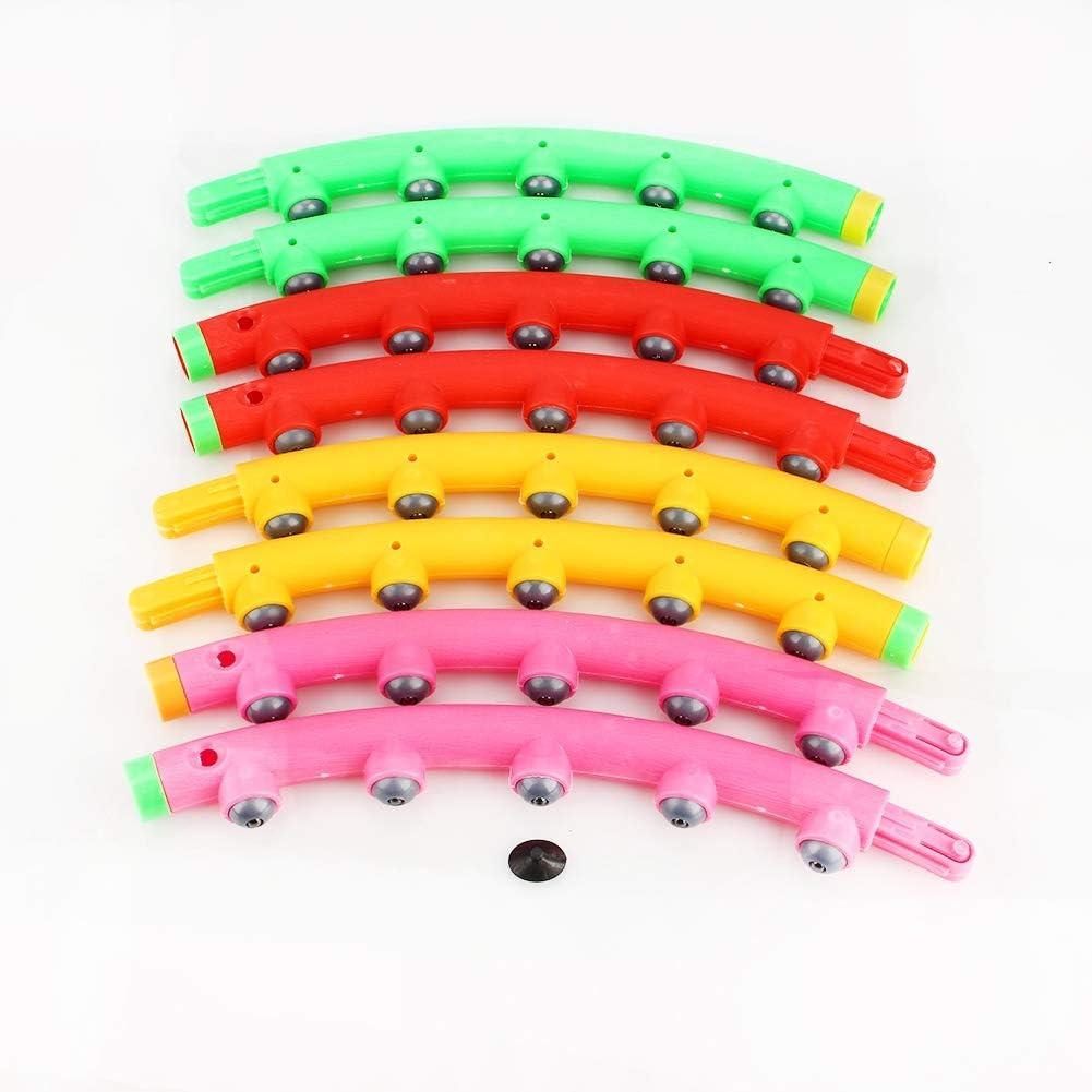 Fitness Hula-Hoop-Reifen Gymnastikreifen joyfuntech 98 cm Hula Hoop Reifen Fitness magnetische Hula Hoop Hula Tube Massage B/älle Hula-Hoop f/ür Erwachsene /& Kinder