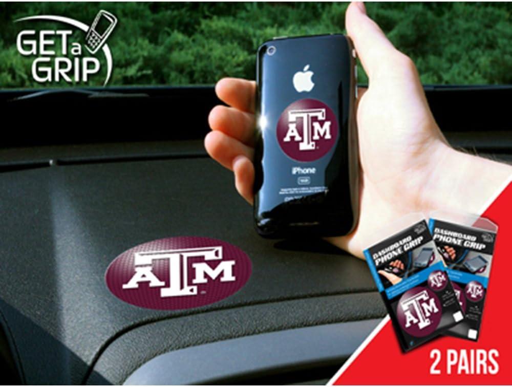 FANMATS NCAA Texas A/&M University Aggies Plastic 2-Pack GetaGrip