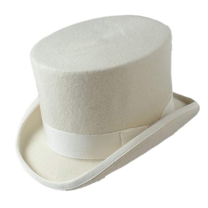 HaiDean Sombreros Sombrero De Copa Sombrero De 15 Cm Victoriano Modernas Casual De Época Sombrero Tradicional Cilindro Sombrero De Chimenea Sombrero Gorras: ...