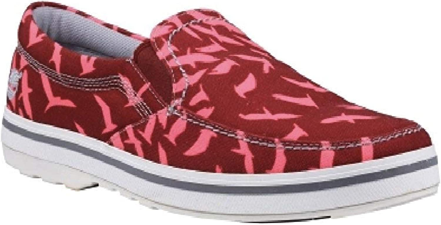 Timberland Earthkeepers North End Canvas Slip-On Shoes 13 US Red-White