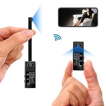 WiFi cámara Oculta Doble Lente Desmontable 1080p HD cámaras Mini Wireless pequeña Cámara p2p/Sensor