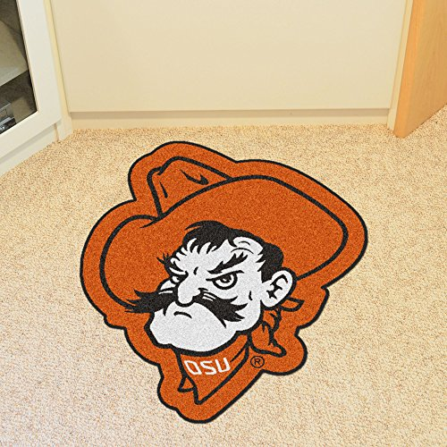 Oklahoma State University Mascot Mat (State University Basketball Area Rug)