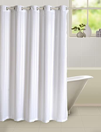 Yuga Home Dcor Polyester Solid Premium Plain Shower Curtain 72 X 80 Inches 1Pc