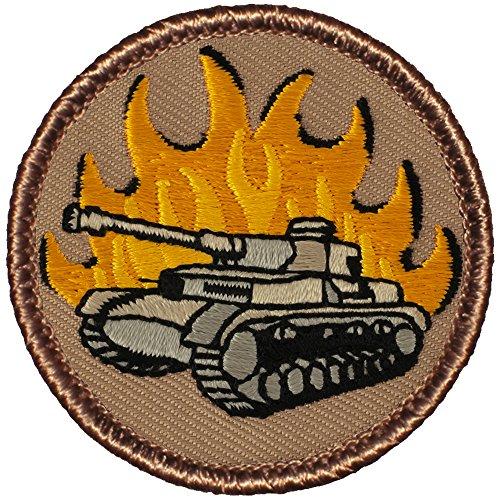 Diameter Tank (Flaming Panzer Tank Patrol Patch - 2