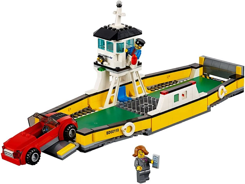 LEGO City Great Vehicles Ferry 60119 Building Toy