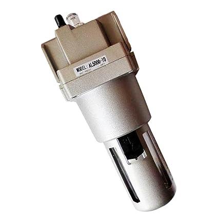 MagiDeal AL5000-10 1/4 Separador de Filtro de Aire Compresor Manómetro