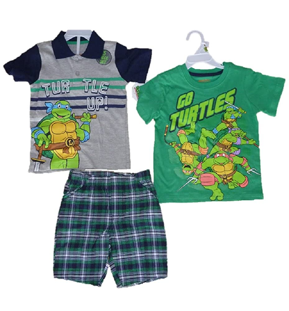 Amazon.com: CAN Inc Toddler Boys Teenage Mutant Ninja ...
