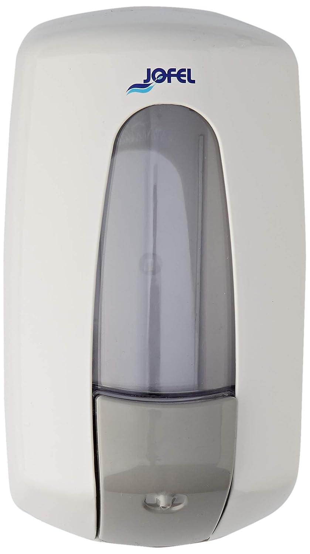 Jofel AC70000, Aitana Dosificador de Jabón, Rellenable, 1 L, Blanco