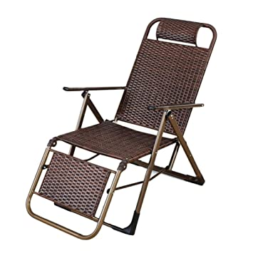 Tumbonas ZGL Reclinables Plegable Lounge Chair Summer Cool ...