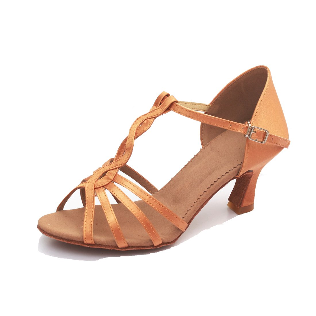 VESI-Chaussures de Danse Latine Talons Hauts Sandales pour Femme VASHCAMER