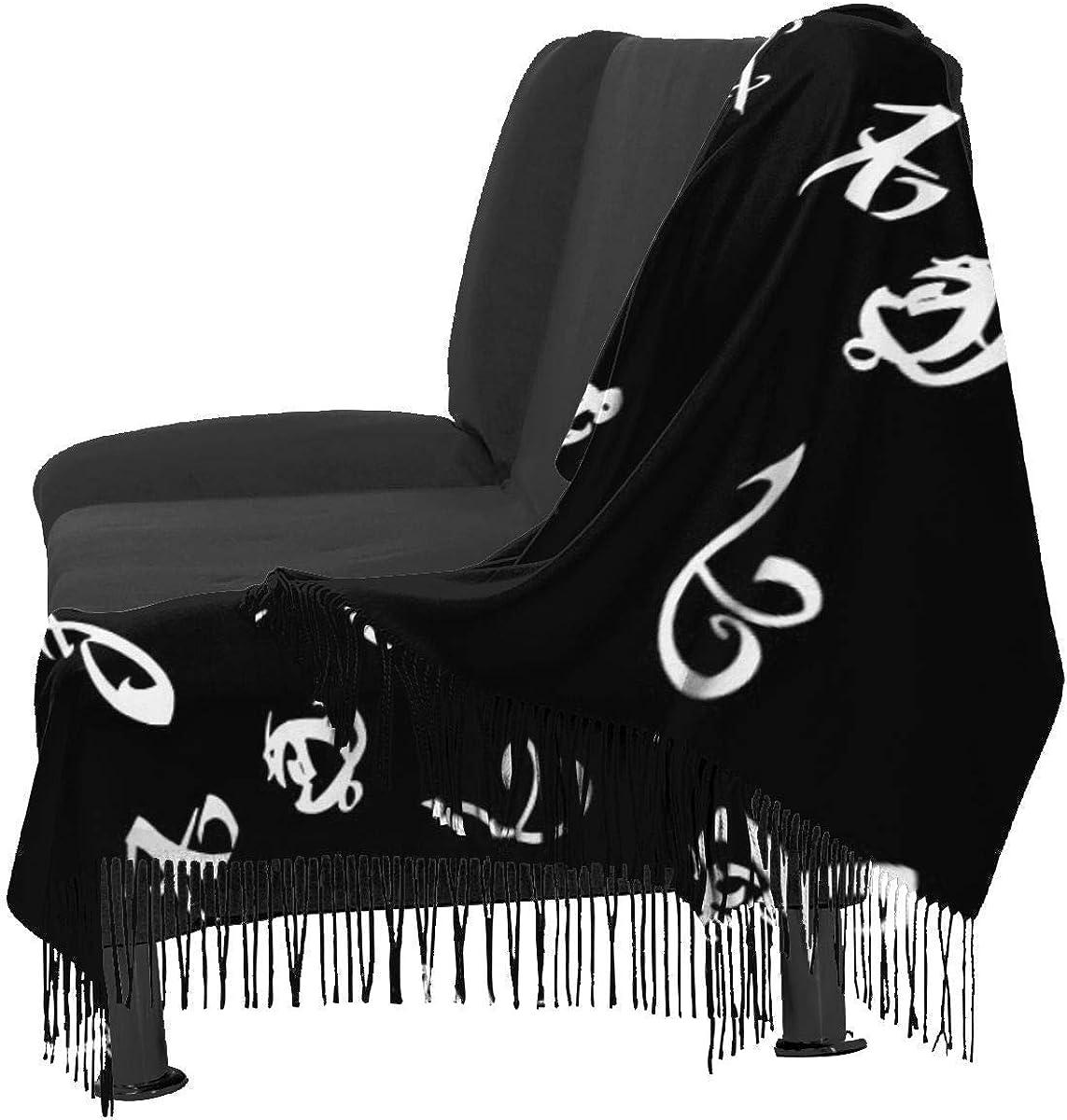 Shadowhunters Runes Women Soft Cashmere Scarf Large Pashminas Shawl Wrap Shawl 77x 27 JJsister Donne Sciarpa Pashmina Avvolgere Scialle Scarf