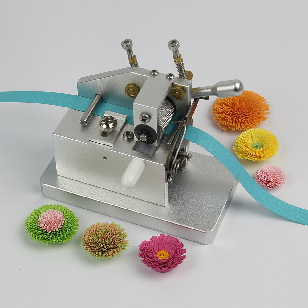 IMISNO Mini Craft Quilling Fringer Quilling Flower Making Tools Paper Tassel Cutting Machine by IMISNO (Image #3)