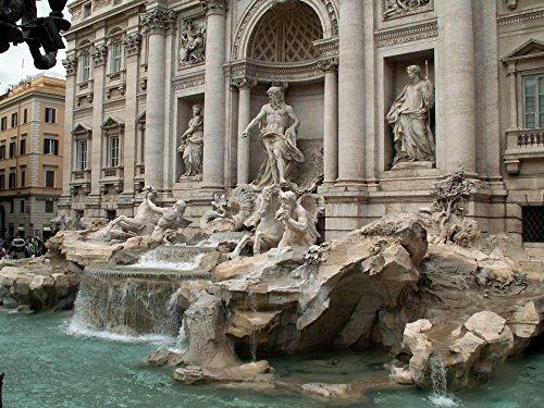 Laminated Poster Trevi Europe Italy Rome Fountain Fontana Di Trevi Poster Print 24 x 36
