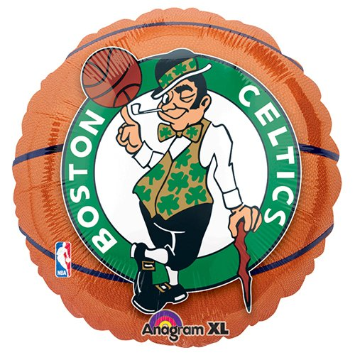 Anagram International A11373601 Boston Celtics Balloon Pack, 18
