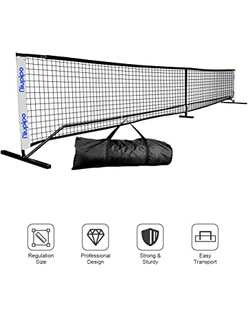 Pickleball Net, Portable Pickleball Net Sets With Large Carry Case, Wind & Dirty Resistant