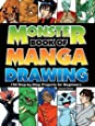 Monster Book of Manga Drawing: 150 Step-by-Step Projects for Beginners