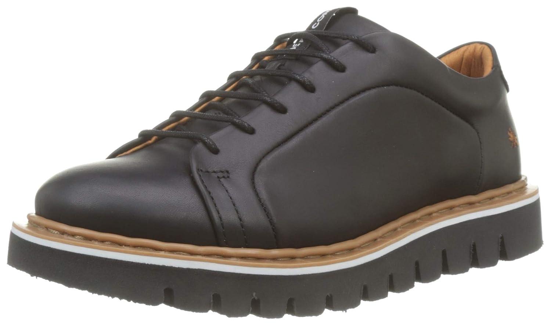 ART 1400 Grass Black/Toronto, Zapatos de Cordones Brogue Unisex Adulto