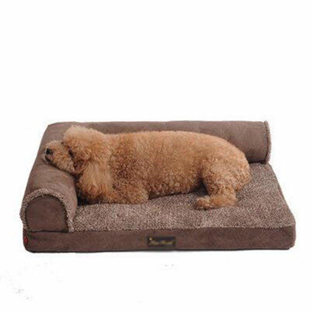 Cane del Cane Grande Cane canile Mat dell'animale Domestico, Autunno e Inverno può Essere Lavato e Pet Kennel (Formato Facoltativo) (Dimensioni   XL)