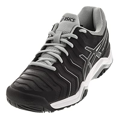 ASICSGEL-CHALLENGER 11 CLAY - Outdoor tennis shoes - black/silver usVQXJiX