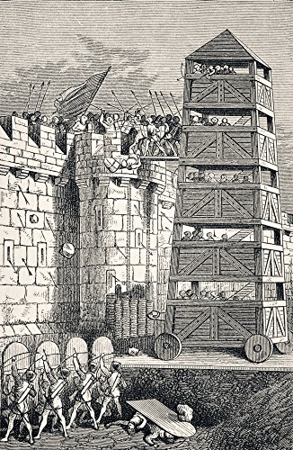 - Moveable Seige Tower Used In Attacks Against Castles From The National And Domestic History Of England By William Aubrey Published London Circa 1890 Poster Print (11 x 18)