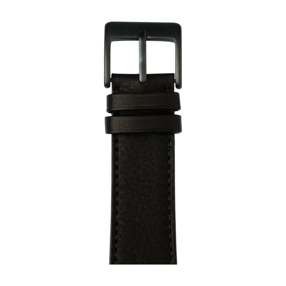 Roobaya | Premium Sauvage Leather Apple Watch Band in Black | Includes Adapters matching the Color of the Apple Watch, Case Color:Space Gray Aluminum, Size:42 mm
