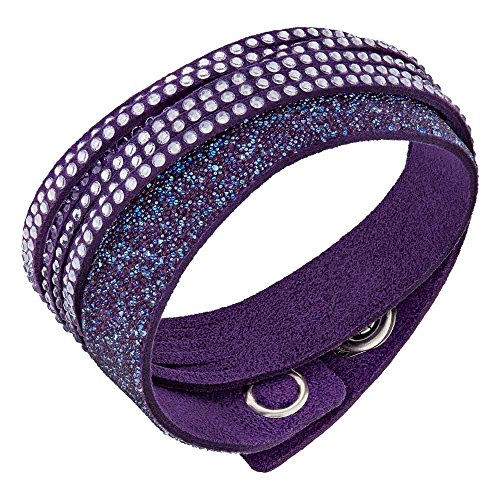 Price comparison product image Swarovski Slake Duo Purple Bracelet