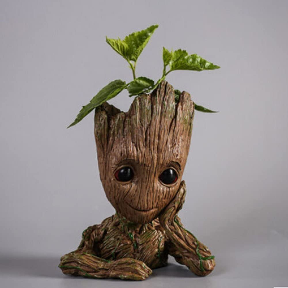 Pot /à fleurs ou /à stylos en forme de personnage de dessin anim/é excellent cadeau de No/ël pour enfants