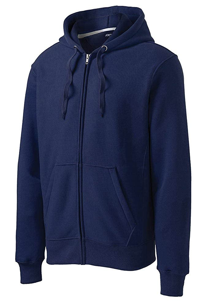 Joes USA Super Heavyweight Full-Zip Hooded Sweatshirt Sizes XS-4XL