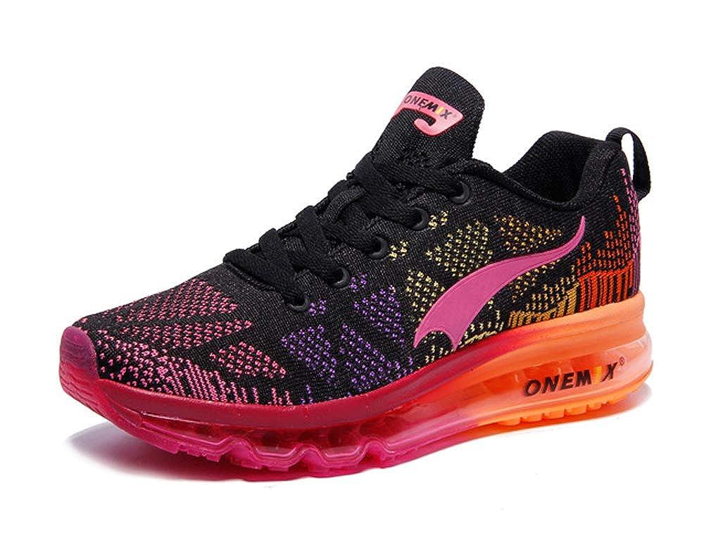 Black pink UB-ONEMIX Unisex Air Cushion Outdoor Sport Music Ritmo Deportivas Running shoes