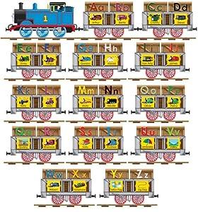 Amazon Com Thomas Amp Friends Alphabet Train 14 Piece