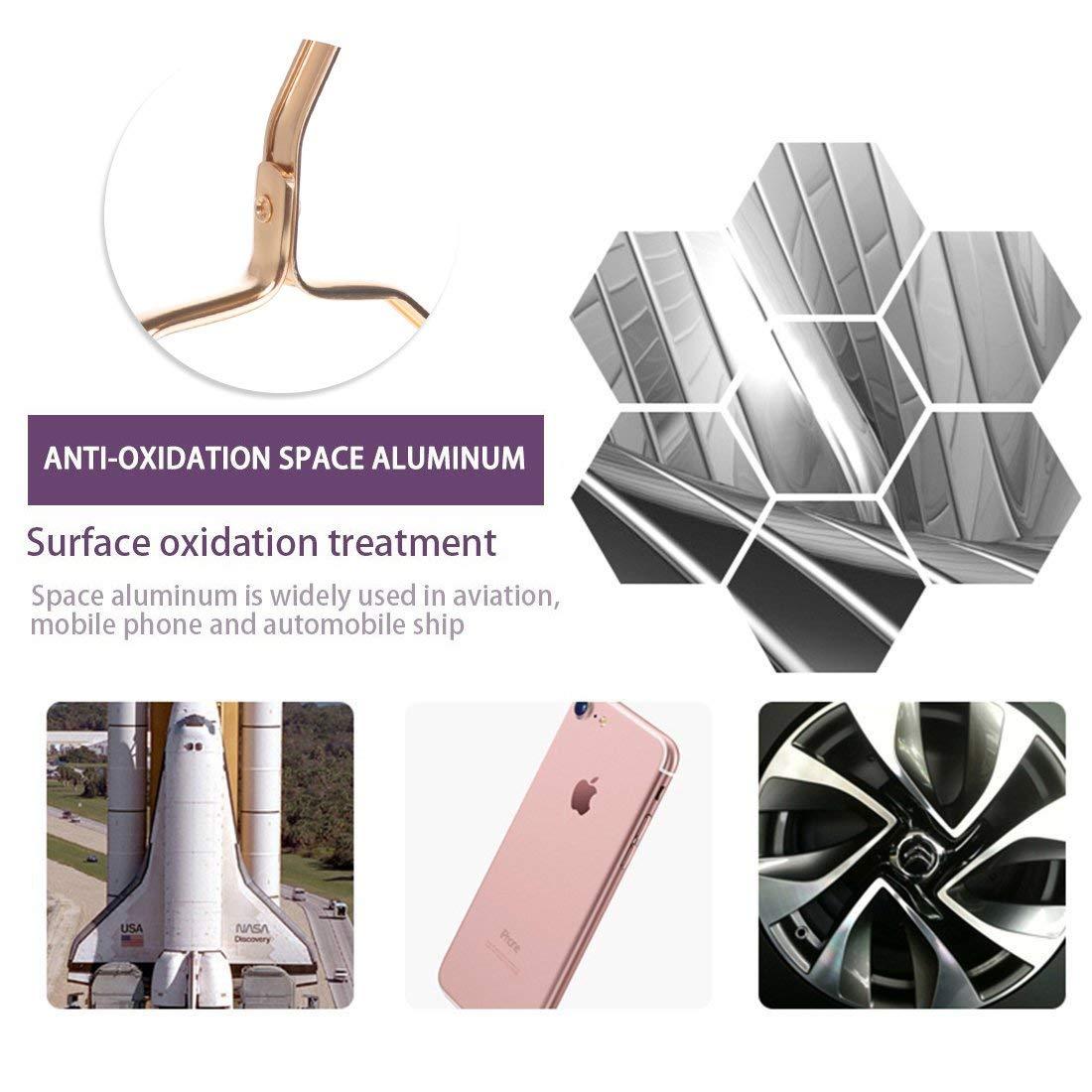 stendipanni Antiscivolo Aegento, X5 Bagnato e Asciutto Sinbide Grucce in Alluminio Stendibiancheria antitraccia