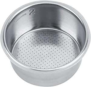 FTVOGUE Stainless Steel Coffee Non Pressurized Filter Basket Strainer Coffee Machine Accessories Coffee Filters for Breville