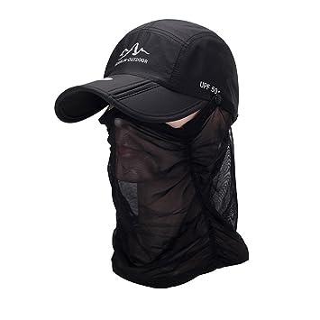 Gorras de béisbol,moda verano seco rápido Snapback Sunscreen ...