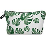 Saking Tree Leaves Floral Large Capacity Pencil Pen Bag Pouch Stationary Case Cosmetic Makeup Bag