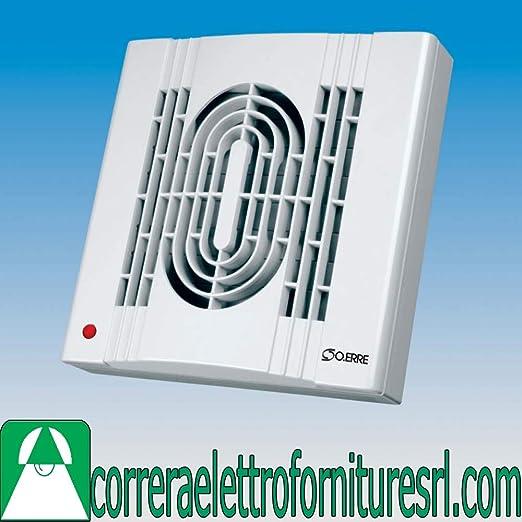 Aspirador extractor aire baño humos olores serranda coche orificio 150 OERRE 50600: Amazon.es: Hogar