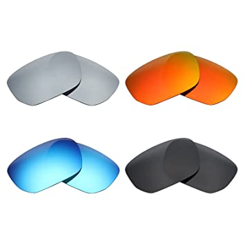 HKUCO Mens Replacement Lenses For Oakley Style Switch Sunglasses Black Polarized NxZkpubSdN