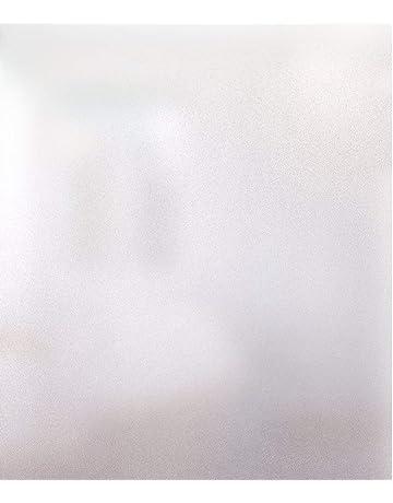 Rabbitgoo Vinilo para Ventana Privacidad Lámina Adhesiva Pegatina Translúcida Adhesiva Decorativa del Vidrio Autoadhesiva con Electricida