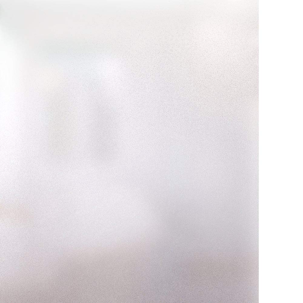 Rabbitgoo Vinilo para Ventana Privacidad Pegatina Translúcida Adhesiva Decorativa del Vidrio Autoadhesiva con Electricida Estática para