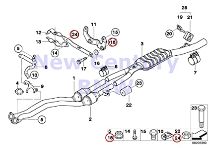 Amazon.com: BMW Genuine Hex Nut Bm8-8-Znniv-Si 318i 318is ... on 2.0l engine diagram, inline 4 cylinder engine diagram, 5.3l engine diagram,